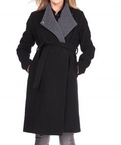 Restless Melissa The Young and the Ordway Coat