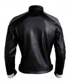 Ghost Rider Agents Of Shield Black Leather Jacket