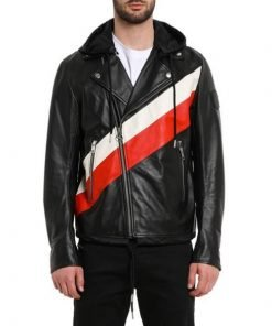 13 Reasons Why Zach Dempsey Black Leather Jacket