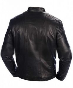 Mens Andrew Marc Leather Jacket