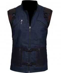 Guardians of The Galaxy 2 Rocket Blue Leather Vest