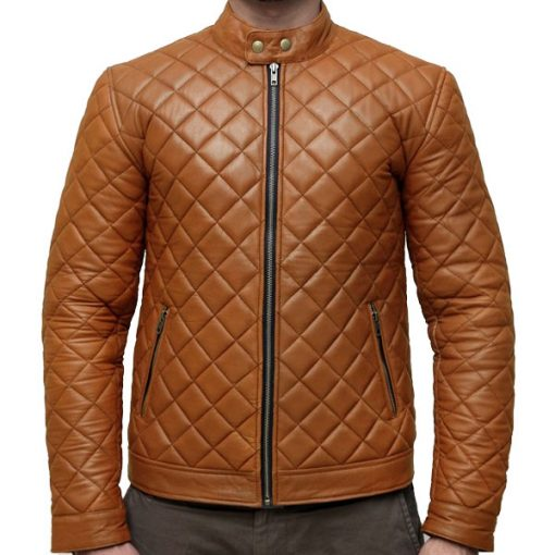 Extreme Handcrafted Fashion Quilted Leather Jacket