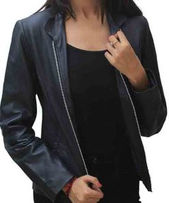 New Cityscape Black Real Leather Jacket