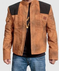 New A Star Wars Story Han Solo Suede Jacket