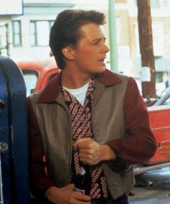 Marty Mcfly Back To The Future 1955 Leather Jacket