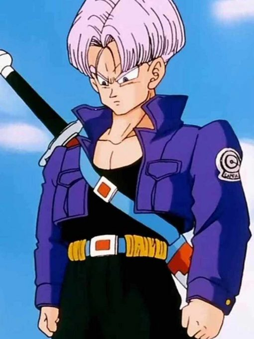 Future Trunks Dragon Ball Fighterz Leather Jacket