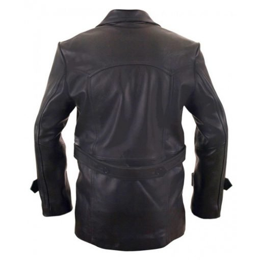 Christopher Eccleston Ninth Doctor Who Leather Jacket
