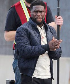 Kevin Hart The Man from Toronto Teddy Blue Jacket