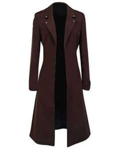 Attack on Titan Eren Yeager Brown Trench Coat