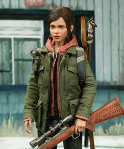 Game The Last of Us Part II Ellie Military Green Jacket