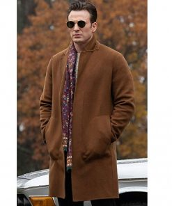 Chris Evans Knives Out Movie Ransom Robinson Coat