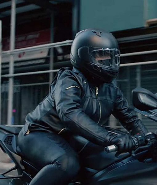 Robyn McCall The Equalizer 2021 Leather Jacket