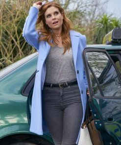 JoAnna Garcia Swisher As Luck Would Have It 2021 Coat