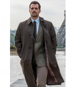 Henry Cavill Mission Impossible Fallout Trench Coat