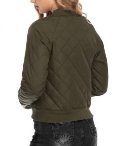 MA-1 Army Evie Green Quilted Bomber Jacket
