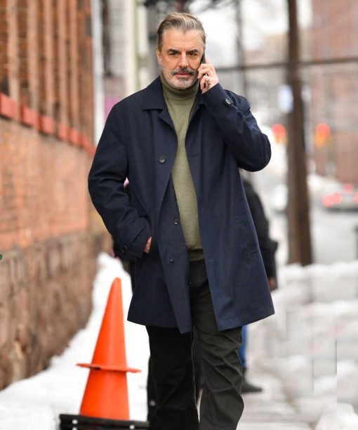 The Equalizer Chris Noth Cotton Coat